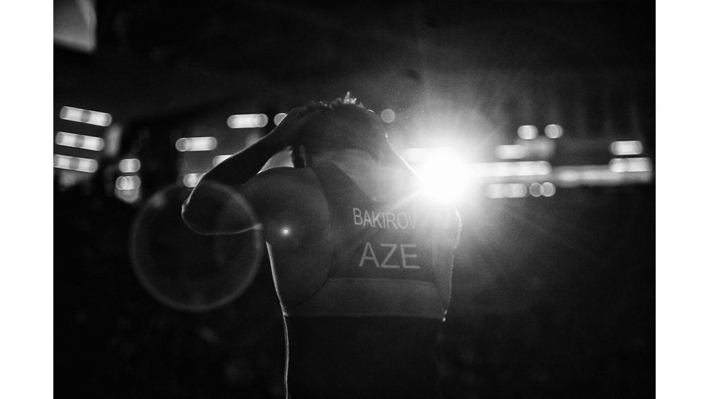 Roman+Bakirov+of+Azerbaijan+prepares+to+compete+against+America%27s+Kyle+Snyder+at+97+kg+during+the+final+round+of+the+2018+Men%27s+Freestyle+World+Cup+at+Carver-Hawkeye+Arena+on+Saturday%2C+April+7.+Team+USA+placed+first%2C+defeating+Azerbaijan+6-4+in+the+finals.+%28Ben+Allan+Smith%2FThe+Daily+Iowan%29