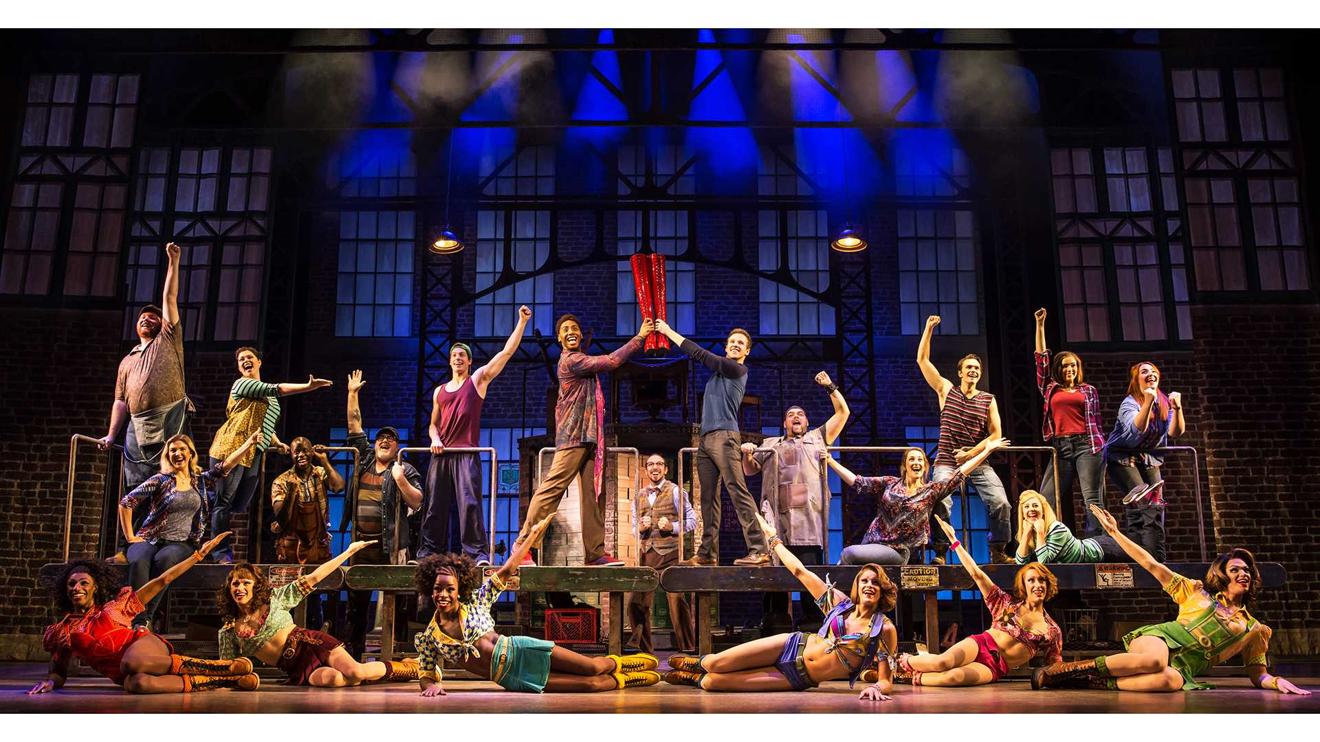 Kinky Boots struts into Hancher