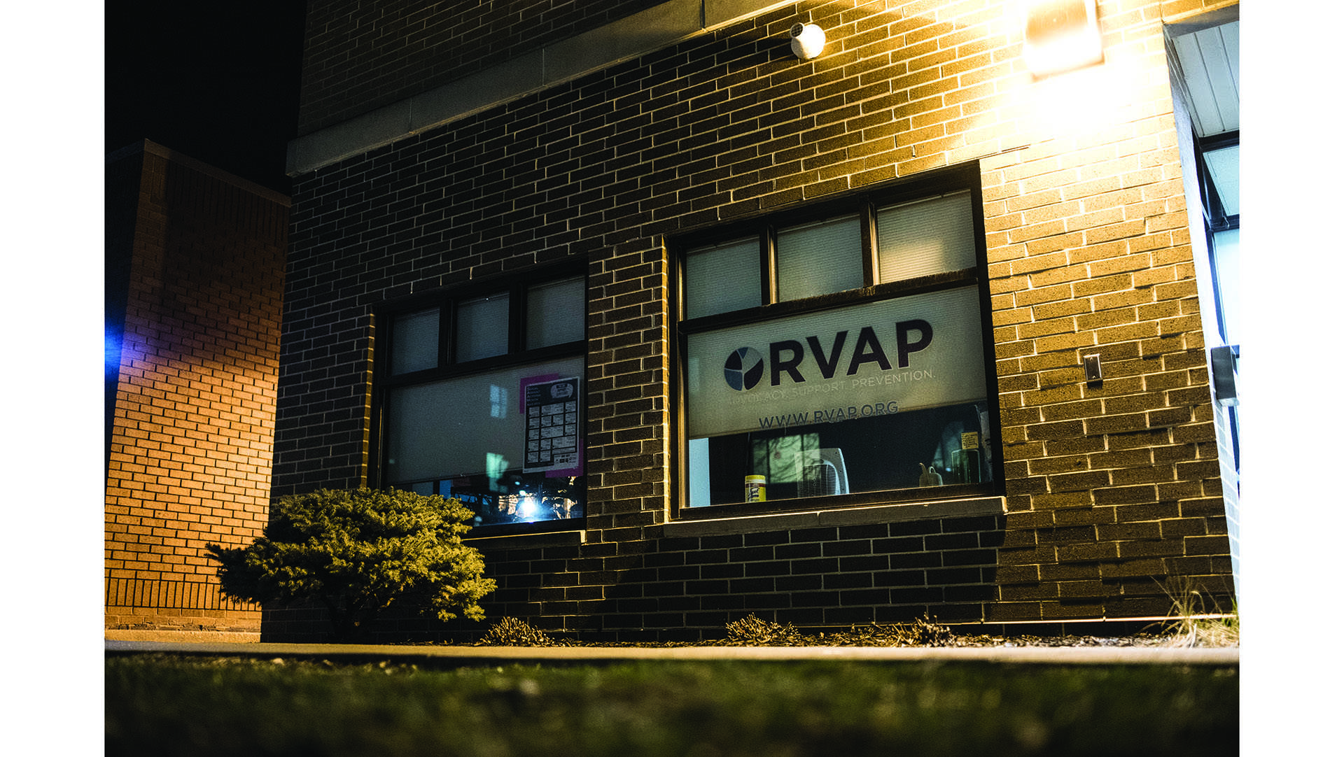 RVAP is pictured on Thursday, April 5, 2018. (Ben Allan Smith/The Daily Iowan)