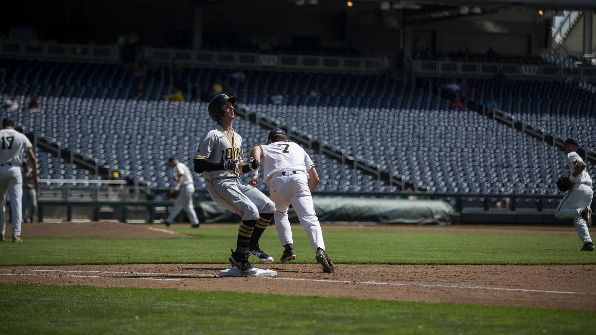 Photos: Baseball vs. Michigan (05/23/18)