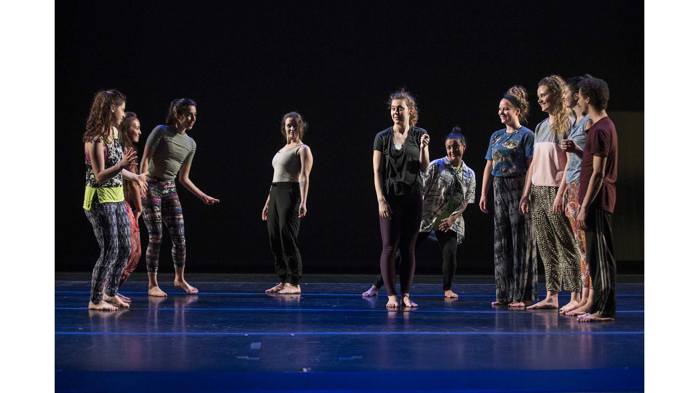 Dance Department holds undergrad dance concert