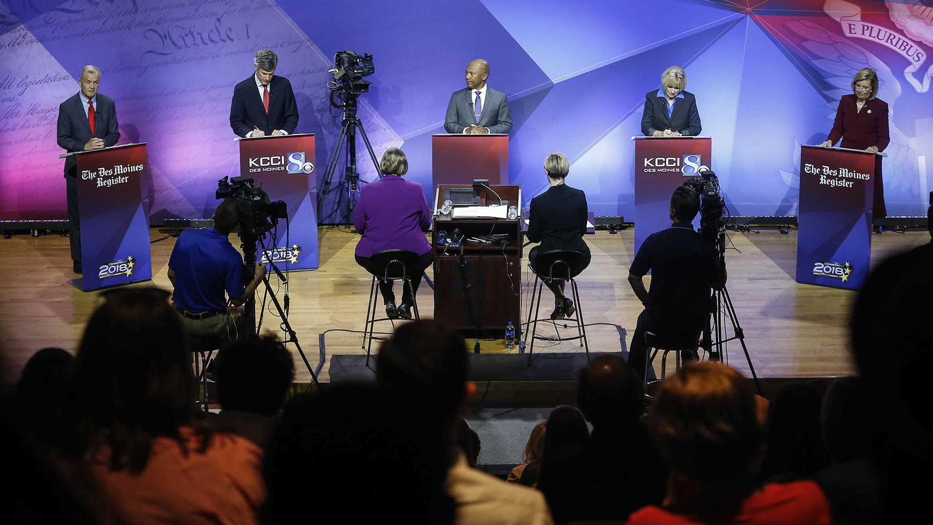 Candidates for Iowa governor hold last debate before Democratic primary