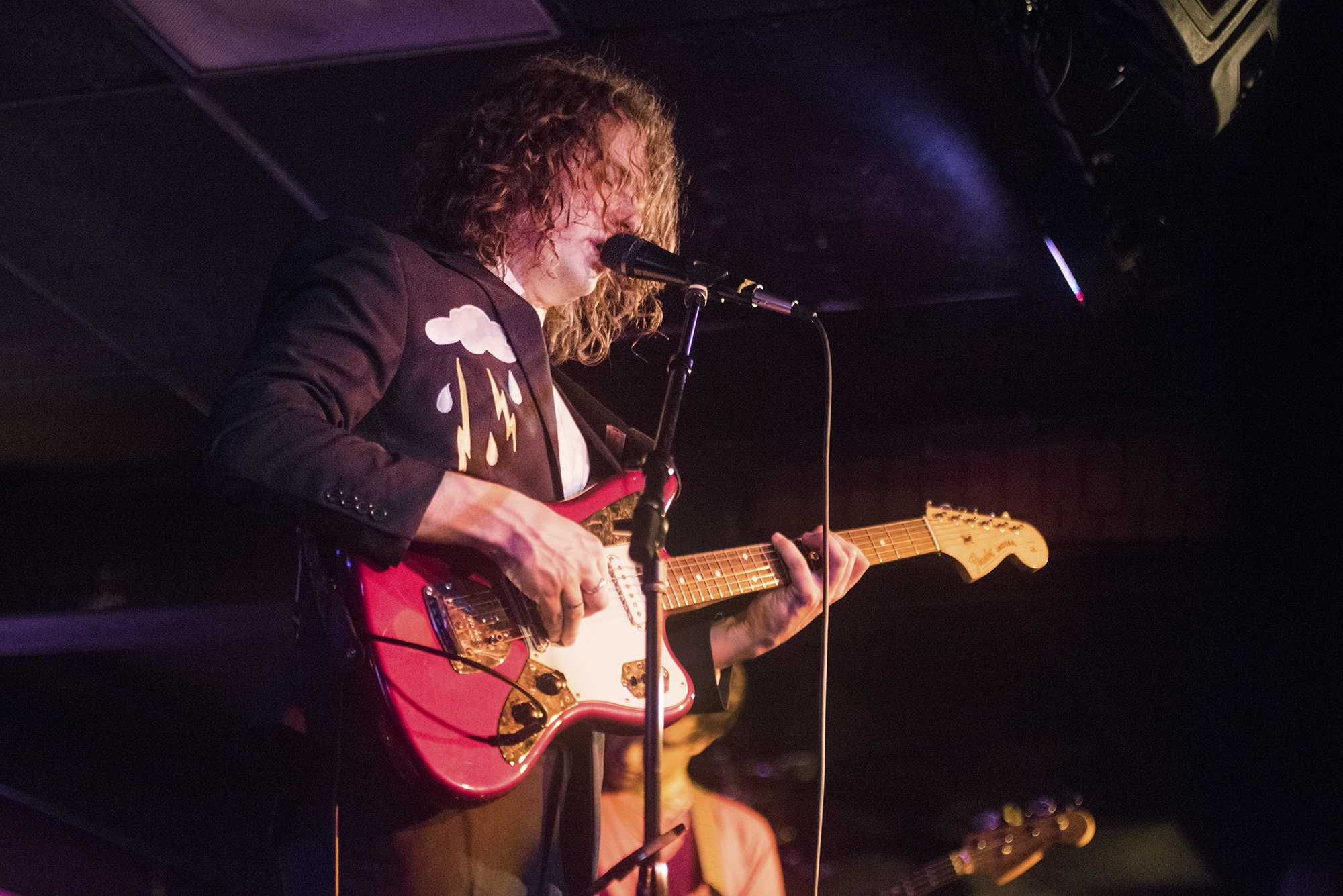 Kevin Morby performs at the Mill on May 4, 2018. Morby is an indie rock singer and songwriter from Kansas City, Missouri. (The Daily Iowan/Olivia Sun)