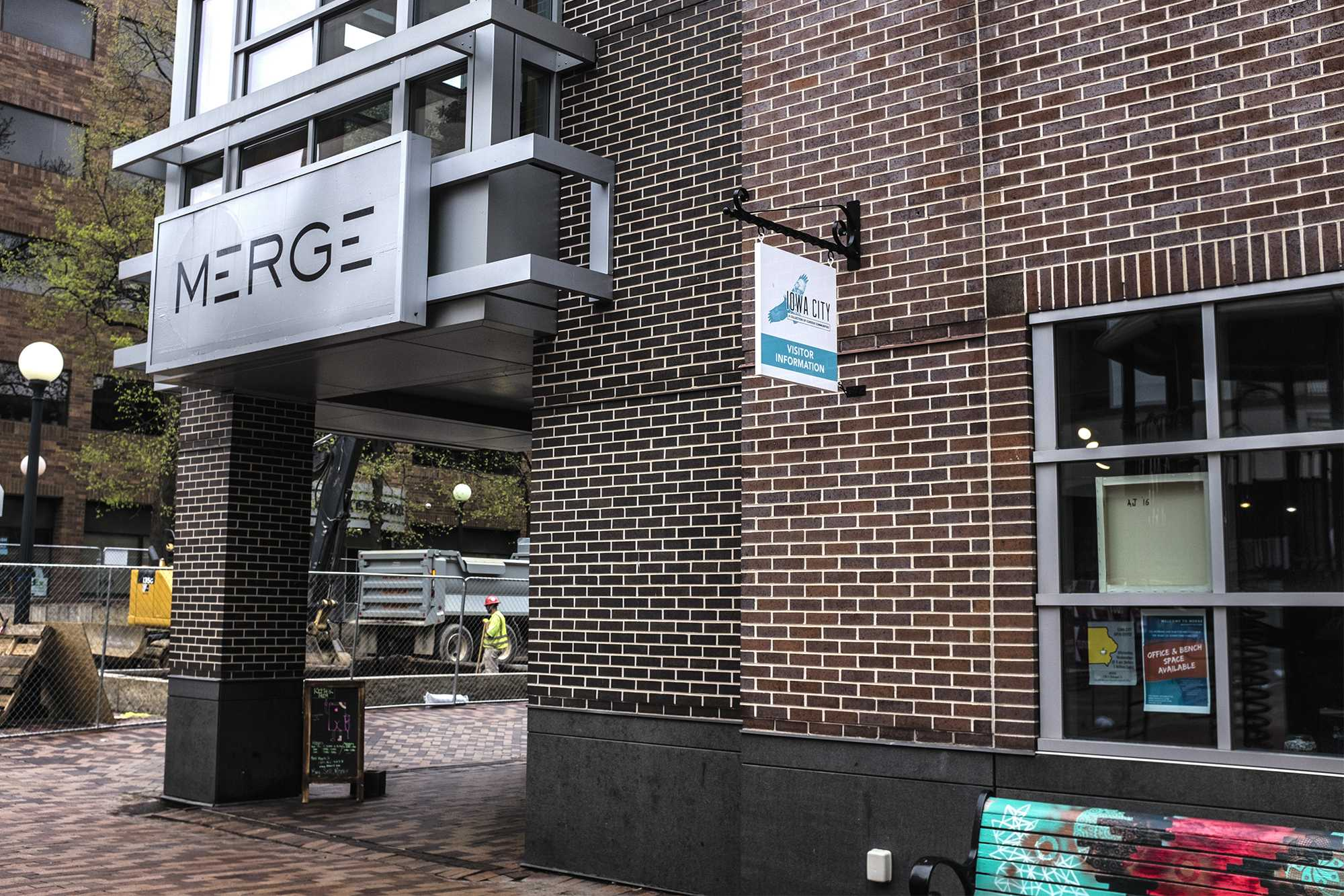 MERGE, a co-working space located on the Ped Mall, celebrates its first birthday