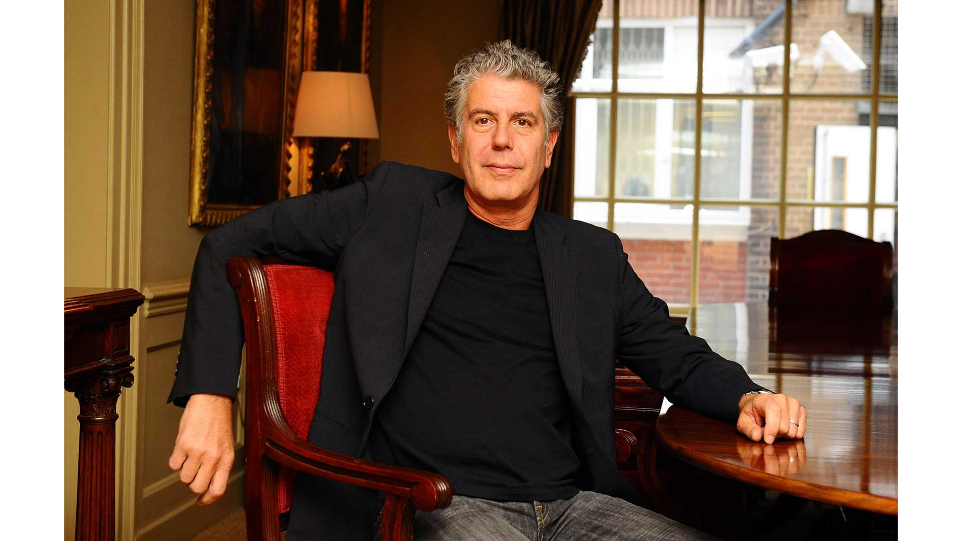 Anthony Bourdain is photographed at the Hazlitts club in London on Sept. 2, 2010. Bourdain was found dead in his hotel room of a suicide at age 61. (Ian West/PA Wire/Abaca Press/TNS)