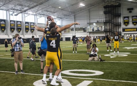 Photos: Iowa Football Media Day (8/10/18)