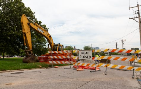 Campus construction could cause delays at Hawkeye football games