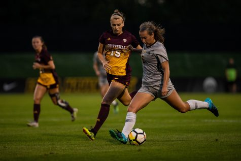Iowa soccer speeds past Terrapins