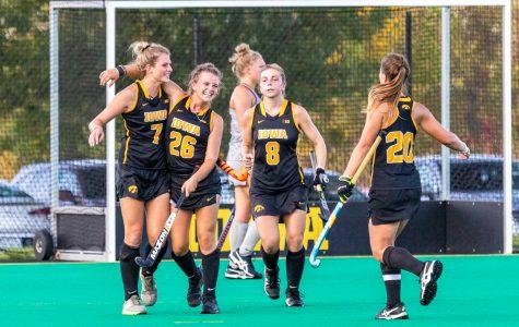Big half gives Iowa field hockey the victory over Penn