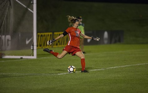 Iowa soccer tops Indiana for first Big Ten win