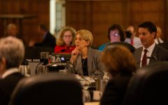'There's no joy' in closing centers, Provost Curry tells Iowa Board of Regents