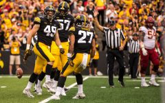 Hawkeye Nick Niemann embraces football family