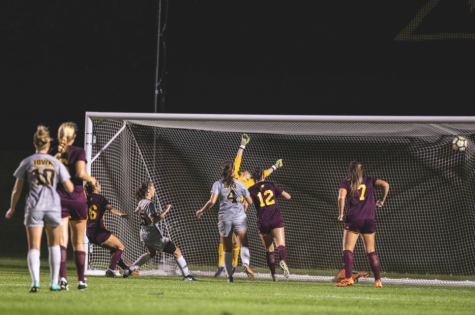 Iowa soccer outguns Central Michigan