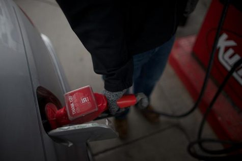 Gas prices at a low for Labor Day