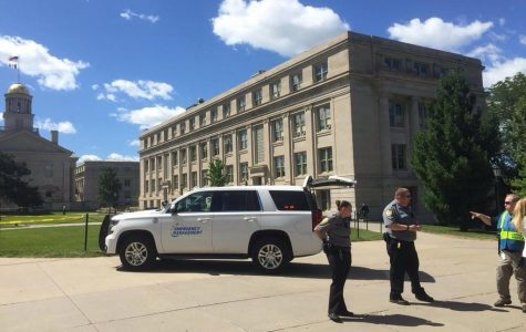 Jessup Hall evacuated on first day of fall semester, suspicious package found