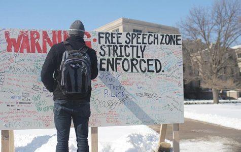 Maintain free speech on campus