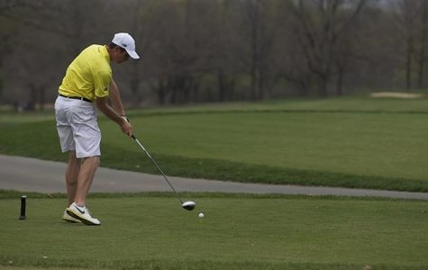 Men's golf heads for last fall tourney