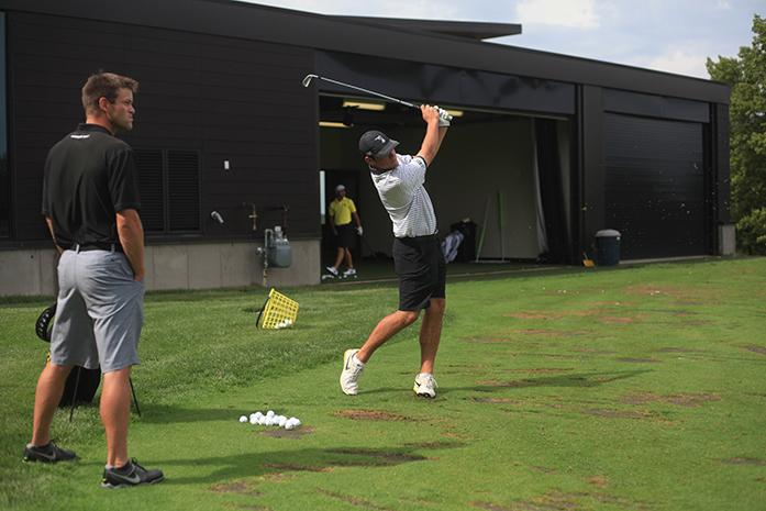 Iowa+golfer+Jack+Homgern+practices+his+swing+during+practice+at+Finkbine+on+Thursday%2C+Sept.+17%2C+2015.+Each+golfer+has+their+own+person+swing+thats+different+from+any+other+one+golfers+swing.+%28The+Daily+Iowan%2FMargaret+Kispert%29