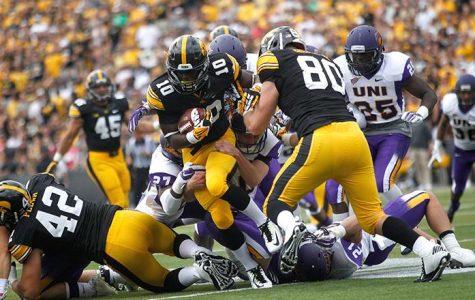 Football works around injuries