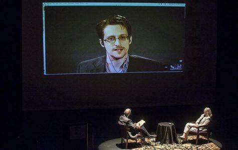 Snowden critiques surveillance