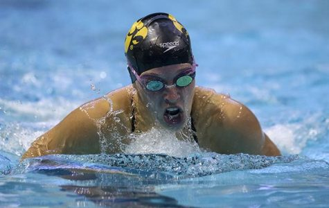 Two Iowa women's swimmers earn honors