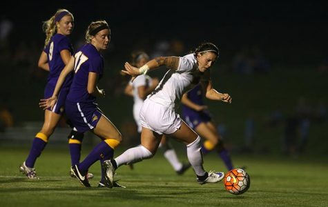 Soccer upends UNI in OT