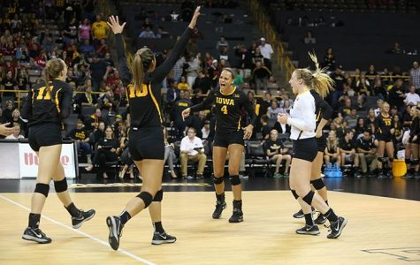 Volleyball tries to follow huge weekend