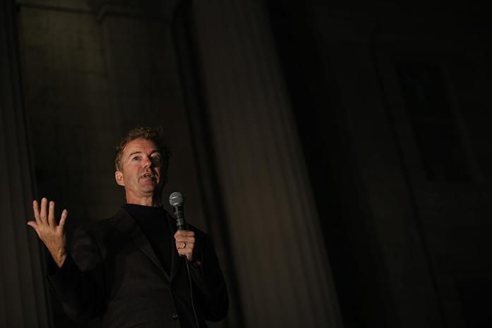 rand paul the right ideas but the wrong election the daily iowan