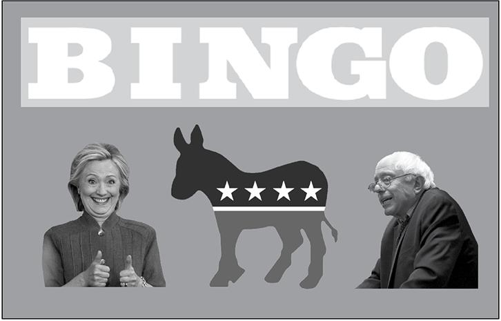 Democratic+B-I-N-G-O