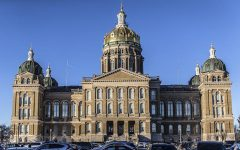 The Iowa State Capitol is shown on Tuesday, Jan. 13, 2015.