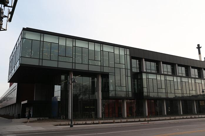 The Campus Recreation and Wellness Center is shown on Sunday, March 22, 2015. The CRWC will be closed from Monday to Sunday due to the mens NCAA Swimming and Diving Championships. (The Daily Iowan; John Theulen)