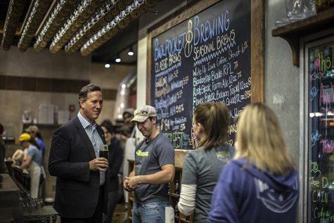 No refugees, Santorum says
