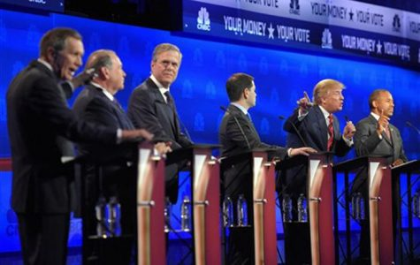 GOP front-runners hold tight