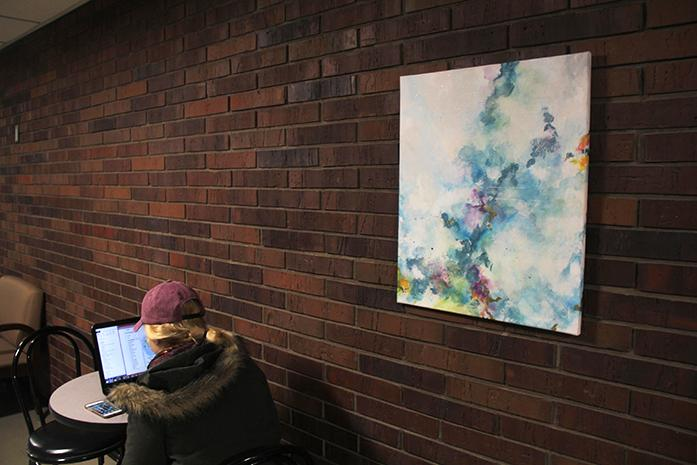 Student+paintings+are+shown+inside+the+EPB+on+Wednesday%2C+Dec.+2%2C+2015.+