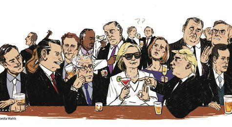 Caucus Candidate Cocktails