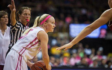 Women's basketball offense explodes