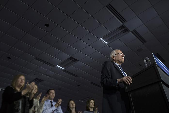Studer: Listen to Sanders' voice