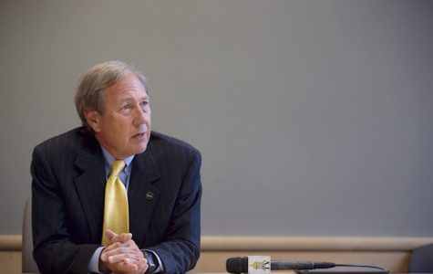 Harreld pushes tuition hike