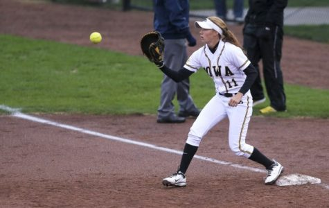 Iowa falls to Purdue in first game of weekend series