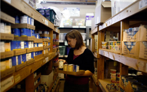 Food Bank ramps up 'love' donations