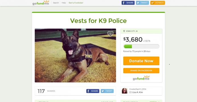 A vested interest in police K9s