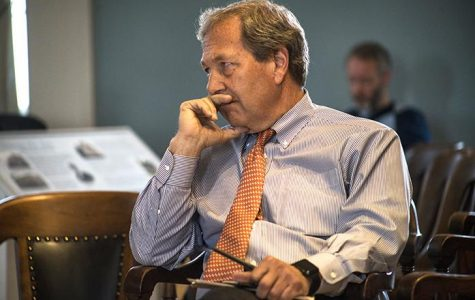 UI justice forum with Harreld turns contentious