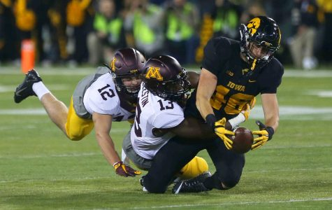 Gophers digging out of hole