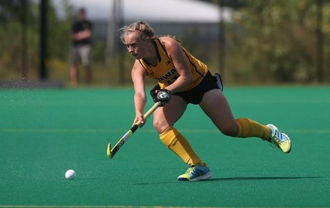 Field hockey swamps foes at home
