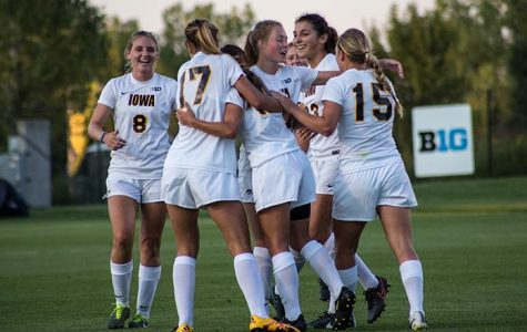 Iowa soccer sweeps through 2 weekend matches