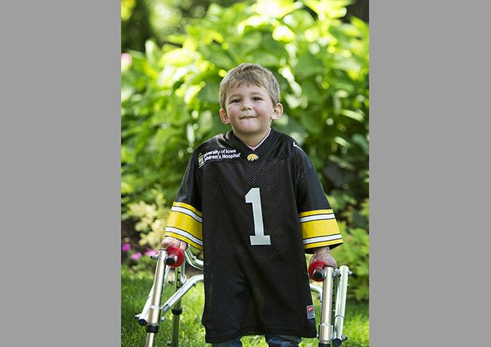 Kid Captain: Liam Young takes adversity in stride