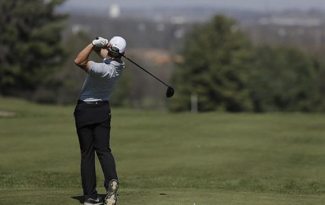 Men's golf places second at Finkbine