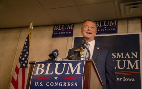 Blum cruises to re-election in Iowa's 1st District