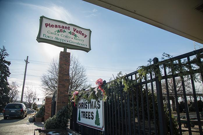 The Pleasant Vallley stores sits on the corner of  1301 S Gilbert St, in Iowa City, Iowa  on Tuesday, Dec. 7, 2016. After nearly 64 years in business, Pleasant Valley  will be closing its doors in January. (The Daily Iowan/Anthony Vazquez)