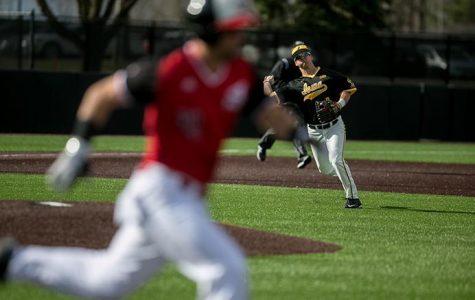 Baseball battles back for win